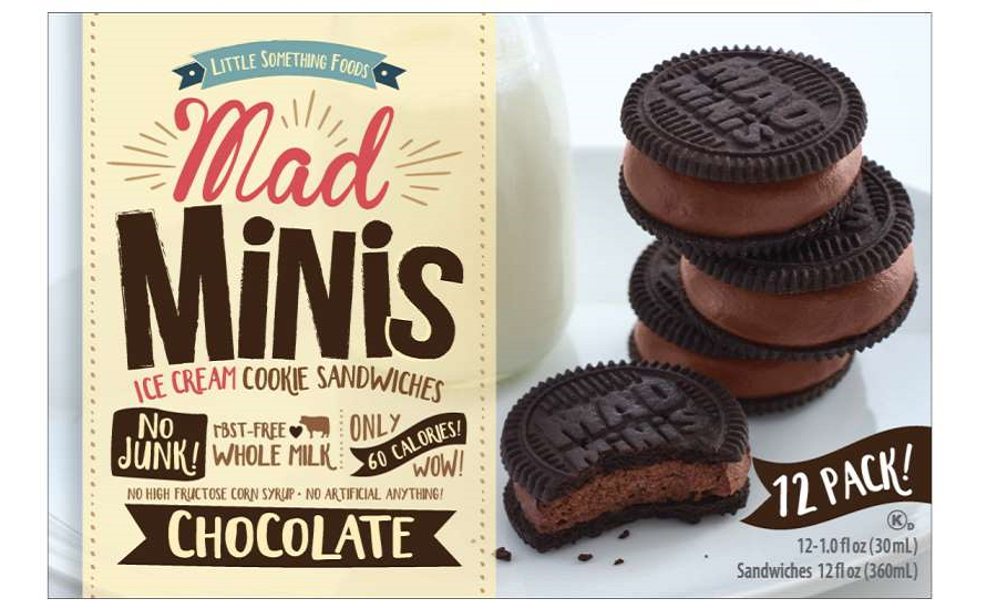 Mad Minis Ice Cream Cookie Sandwiches Get New Life with Redesigned Packaging