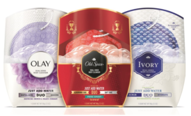 P&G launches Olay, Ivory & Old Spice DUO body wash line