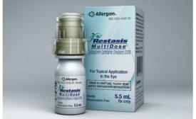Restasis launches in new multi-dose dispenser