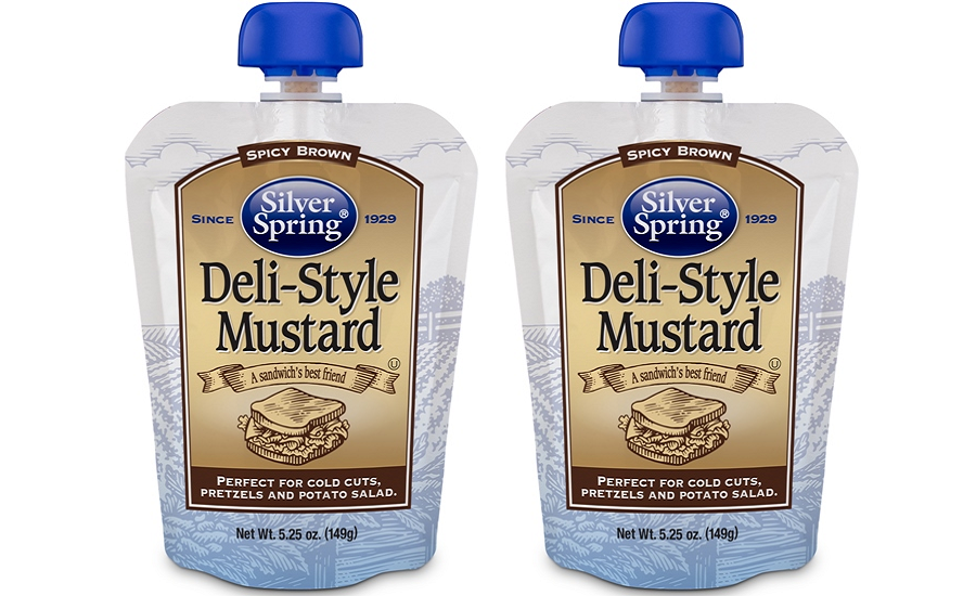Silver Spring Foods Inc. introduces the first Deli-Style Mustard in a gusseted pouch