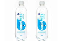 GLACEAU Smartwater new recycled label