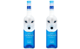 Snowfox Vodka get ice-blue gaze from Canadian fox on label