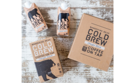 New cold-brew coffee on the go