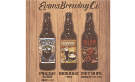 Evans Brewing Company releases three new ales in bottles