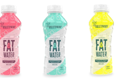 FATWater line of bottled water with nutrients