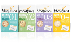 Freestone's new organic cereal hits shelves with big and bold packaging design