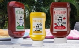 Condiments show real character in new packaging