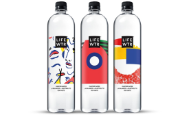 LIFEWTR™ new series of bottle labels feature designs from emerging female artists
