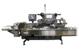 Campbell Wrapper Corp's Revolution Horizontal Flow Wrapper with sanitary hygienic infeed