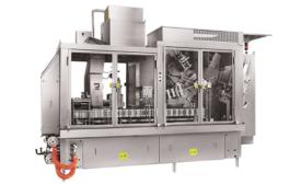 Quart/liter gable top packaging machine designed for low volume