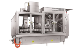 Quart/liter gable top packaging machine designed for low volume