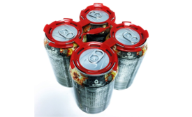 Innovative can handles help sell craft beer