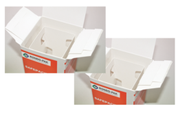 Rondo-Pak new shock-resistant carton for sensitive products