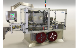 Combo machine integrates neck bander, conveyor, shrink tunnel & inspection