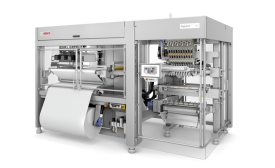 Bosch introduces freely scalable vertical flat pouch packaging machine