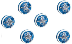 Ice Breakers pucks offer fun, confidence boosting sayings