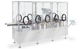NJM Packaging Introduces Aseptic Filling, Stoppering and Capping Machine for Vials