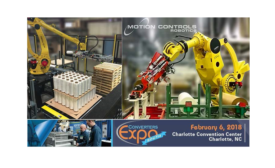 Motion Controls Robotics to exhibit at Converters Expo South
