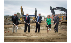 Toray Plastics (America) helps University of Rhode Island break ground on engineering complex