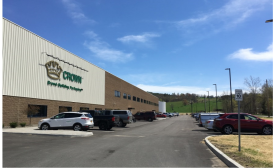 CROWN OPENS FIRST GREENFIELD BEVERAGE CAN FACILITY IN THE UNITED STATES IN OVER 20 YEARS
