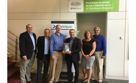 "ProAmpac Receives ""Spirit of Excellence"" Award from Hormel Foods"