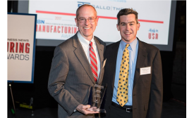 TORAY PLASTICS (AMERICA) RECEIVES AWARD FOR OVERALL EXCELLENCE IN MANUFACTURING