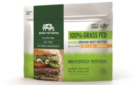 Frozen Meat Patties Launch in Resealable Pouch Packaging
