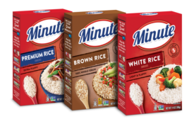 Simple, Convenient Packaging Update for Minute Rice