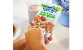 Stonyfield Yogurt Dips Into Snack Pack Market