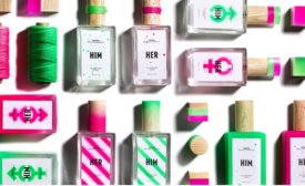 Her & Him Perfume Packaging Hits the Streets