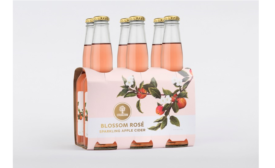 Strong Name with Delicate Design for Cider Brand