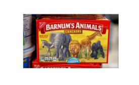 Animals Now Uncaged on Nabisco's Animal Cracker Box