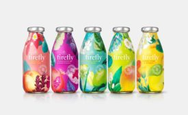 A Colorful Rebrand for Firefly Botanical Drinks