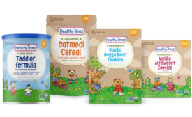 Healthy Times Organic Baby Food Brand Refreshes Packaging