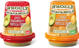 New To-Go Snack Cups for WHOLLY GUACAMOLE
