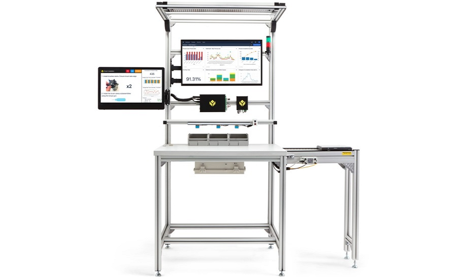 Smart Workstation Combines Manual Production System with