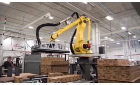Delkor Unveils New Robotic Palletizer