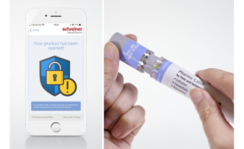 Autoinjector Label Provides Authentication with NFC chip