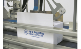 Double-Duty Case Sealer Designed for Snack Food Manufacturing