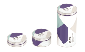Tins and Tubes Designed for Cannabis Products