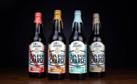 Dark Stout Bottled with Colorful Flare