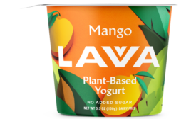 New Simple and Bright Packaging for Plant-Based Yogurt