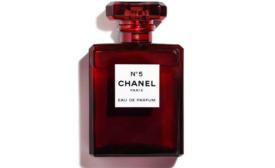 Chanel No. 5 Eau de Parfum Turns Red