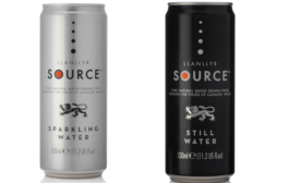 Spring & Sparkling Water Brand Trades Plastic for Cans