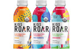 Organic Sports Drink for Kids in Fun Designs