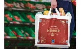 Aldi's Holiday Bags Get Boost from Esko's Digital Flexo