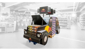 DS Smith wins SuperStar Award for Red Bull Corrugated Packaging Display