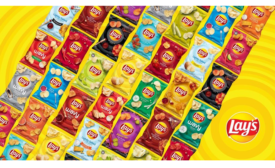 Lay's Giveaway Offers Year of Free Chips for Selfies with New Packaging