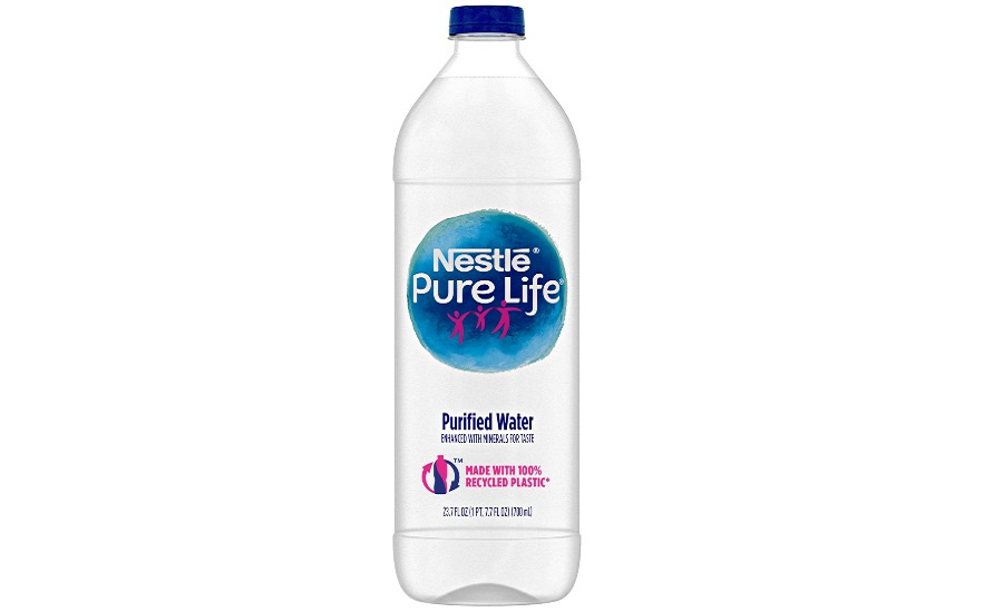 Nestlé Waters Named 2019's Design for Recycling Award Winner