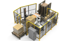 Brenton Launches Line of Compact Robotic Palletizers/Stretch Wrappers